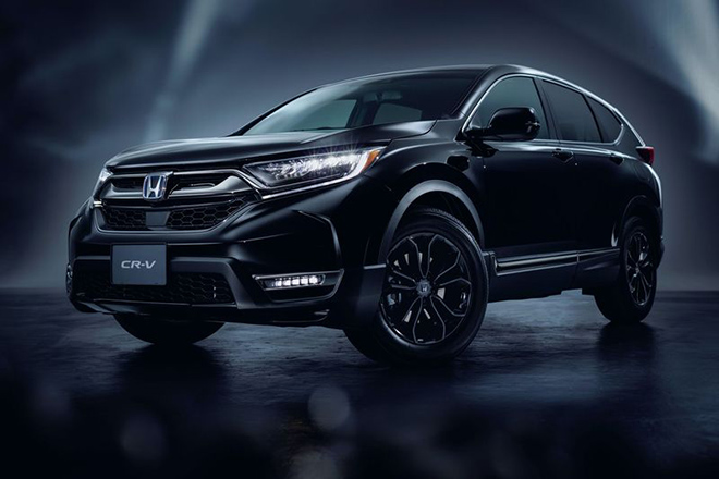 Honda CR-V Black Edition has a mysterious beauty, priced from 821 million VND
