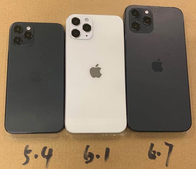 Tiếp tục xác nhận 3 kích cỡ cơ bản của dòng iPhone 12 5G - 1