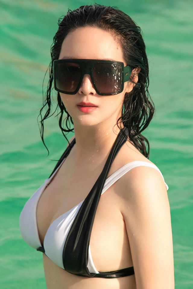 Hoa hậu Đền Hùng mặc bikini thủng lỗ khoe vẻ đẹp tựa tiên sa ở tuổi gần 50 - 6