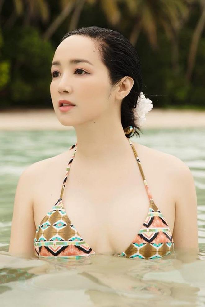Hoa hậu Đền Hùng mặc bikini thủng lỗ khoe vẻ đẹp tựa tiên sa ở tuổi gần 50 - 7