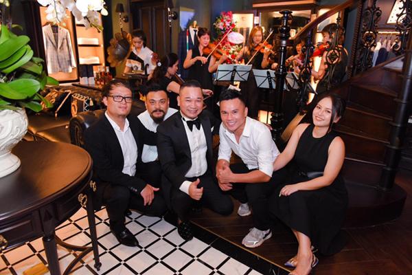 Lê Hiếu, Cường Seven cùng dàn sao hội tụ mừng Khai trương showroom Chương Tailor mới tại 28 Cửa Bắc - 6