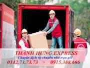 Thị trường 24h - Thành Hưng - Dịch vụ chuyển nhà, chuyển văn phòng uy tín tại Hà Nội