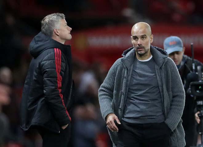 """Thù địch MU - Man City: 3 lần thua Solskjaer, Guardiola e sợ thế lực """"Quỷ đỏ"""" - 2"""