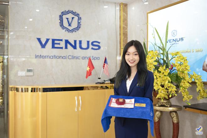 """Tặng vàng 9999 cho mỗi khách hàng làm đẹp - Thẩm mỹ viện Quốc tế Venus """"chơi lớn"""" đón hè sang - 2"""