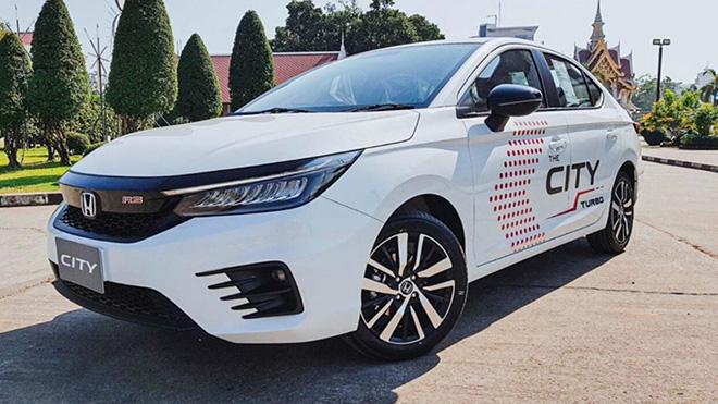 Honda City thế hệ mới thêm cửa sổ trời và đồng hồ hiển thị mới - 2