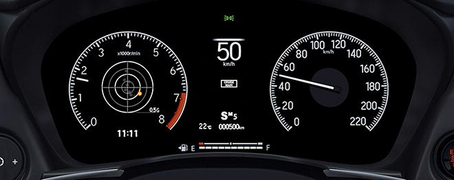 Honda City thế hệ mới thêm cửa sổ trời và đồng hồ hiển thị mới - 6