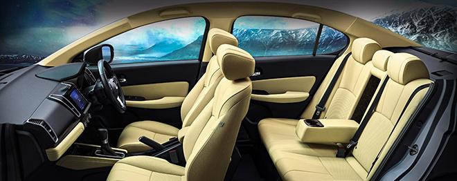 Honda City thế hệ mới thêm cửa sổ trời và đồng hồ hiển thị mới - 9