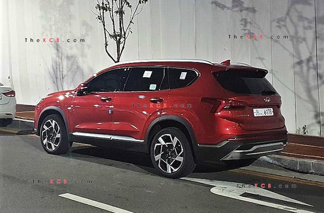 Hyundai SantaFe 2021 xuất hiện trên phố, đếm ngược giờ ra mắt toàn cầu - 3