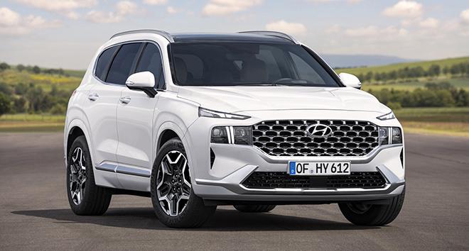 Hyundai SantaFe 2021 xuất hiện trên phố, đếm ngược giờ ra mắt toàn cầu - 4