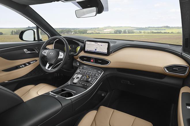 Hyundai SantaFe 2021 xuất hiện trên phố, đếm ngược giờ ra mắt toàn cầu - 5