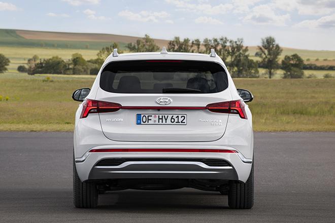 Hyundai SantaFe 2021 xuất hiện trên phố, đếm ngược giờ ra mắt toàn cầu - 6