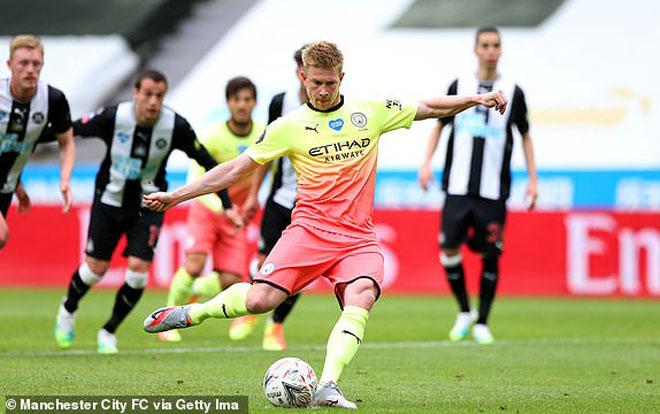 Video Highlight Trận Newcastle Man City 2 Lần May Mắn đoạt Ve đấu Arsenal