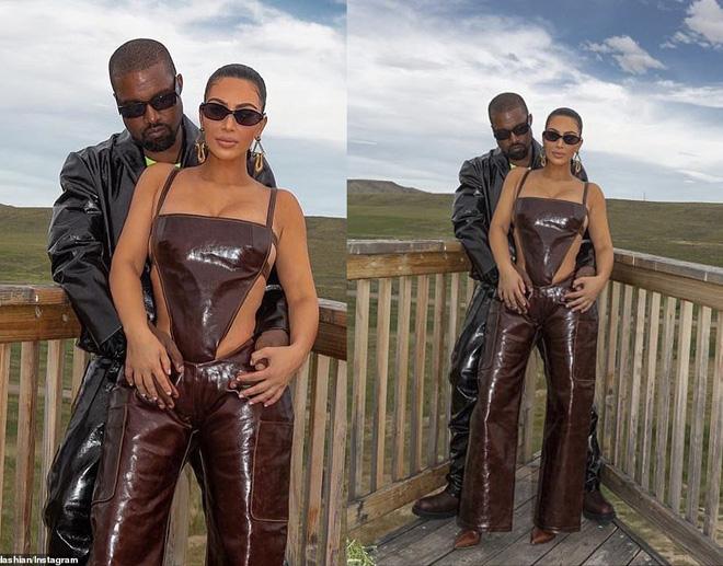 """Chồng không """"tiêu hóa"""" nổi cách ăn mặc, Kim Kardashian vẫn diện quần yếm kỳ quặc - 2"""
