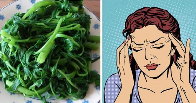 """7 loại rau quả """"đẩy máu"""" lên não, giúp người rối loạn tiền đình hết hoa mắt chóng mặt, đau đầu liên miên - 1"""