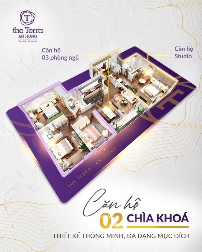 """The Terra - An Hưng chinh phục khách hàng với căn hộ """"hàng hiếm"""" Dual Key - 1"""