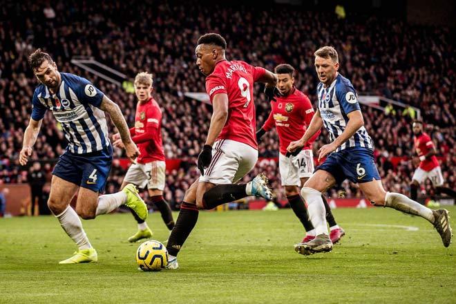 Trực tiếp bóng đá Brighton - MU: Quyết thắng đòi lại vị trí thứ 5 - 10