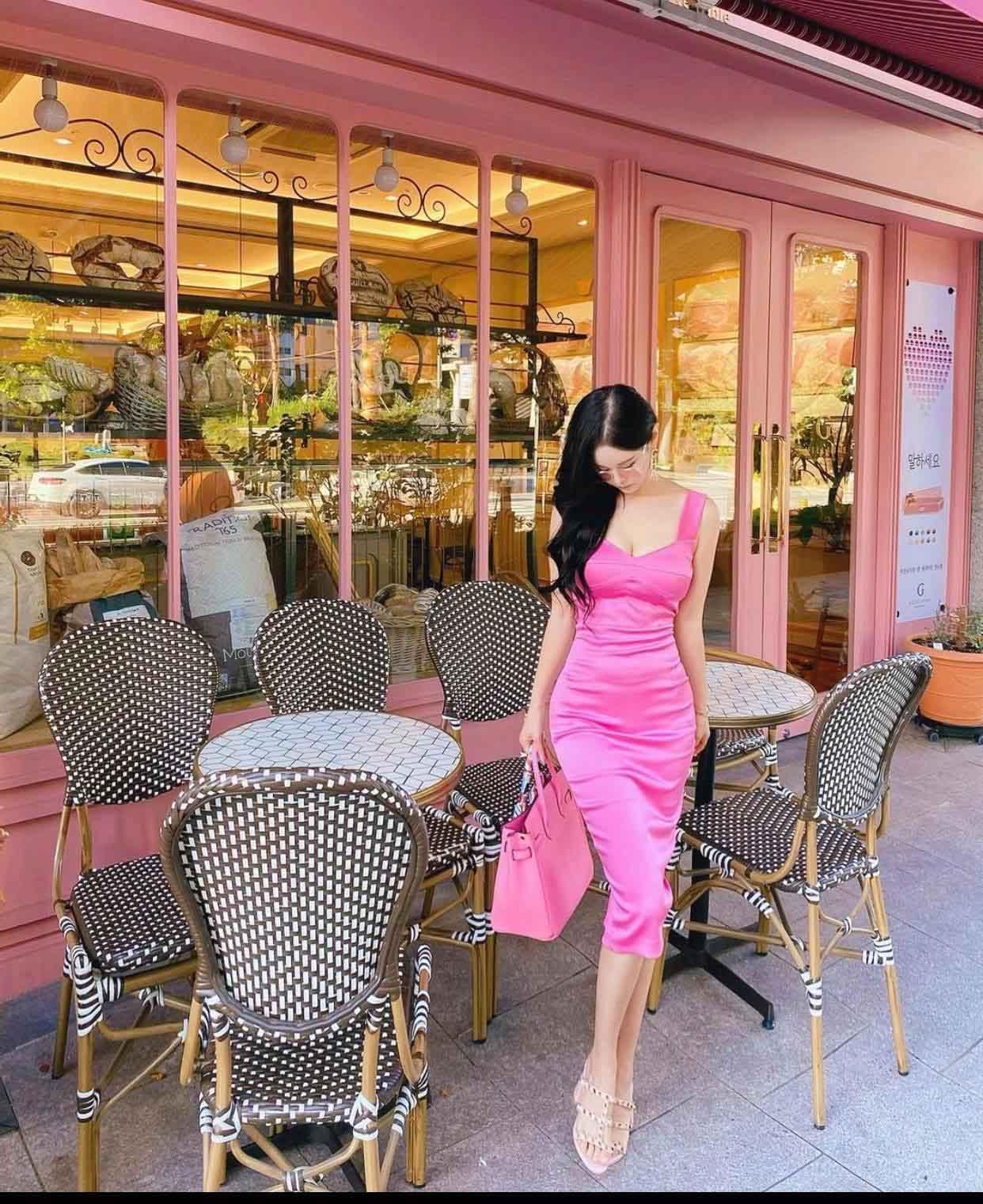 """""""Búp bê Barbie Hàn Quốc"""" đến phụ nữ cũng phải mê vì khéo mặc tôn nét gợi cảm - hình ảnh 6"""