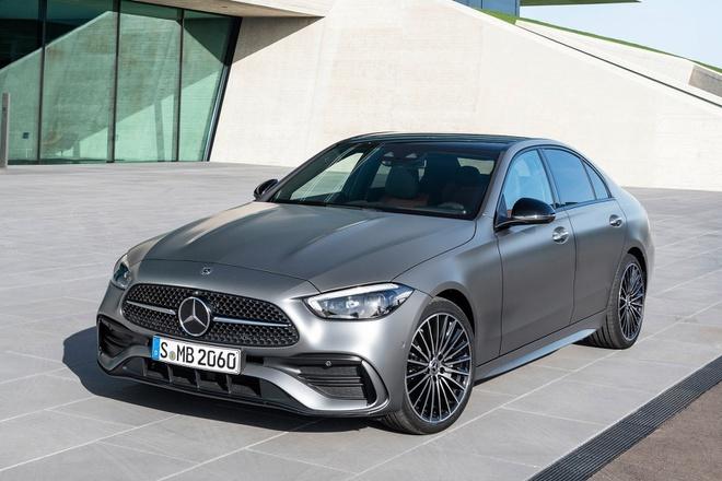 """Lộ nội thất Mercedes-Benz C180 2022, nhiều chi tiết """"mượn"""" từ S-Class mới - 1"""