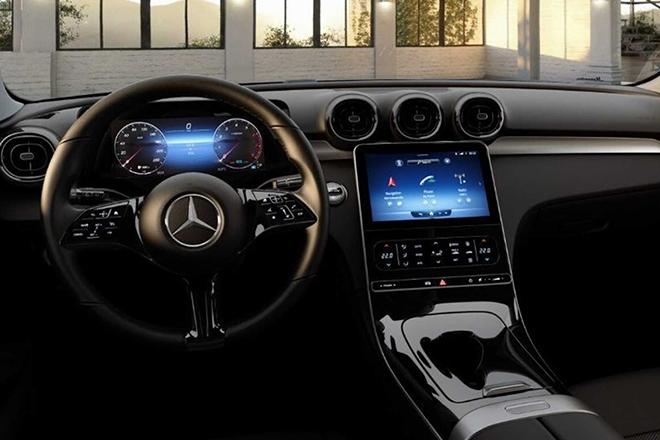 """Lộ nội thất Mercedes-Benz C180 2022, nhiều chi tiết """"mượn"""" từ S-Class mới - 3"""