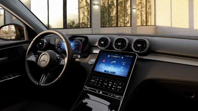 """Lộ nội thất Mercedes-Benz C180 2022, nhiều chi tiết """"mượn"""" từ S-Class mới - 4"""