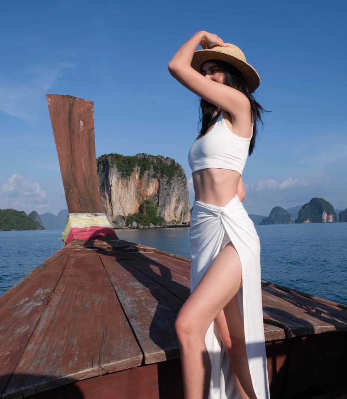 """""""Ma nữ đẹp nhất Thái Lan"""" khoe chiếc bụng đói chỉ 58cm, cơ múi gồ ghề nhờ nhịn ăn 16 tiếng - 8"""