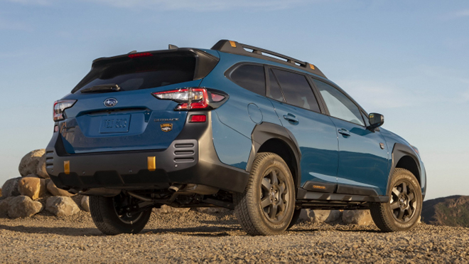 Subaru Outback Wilderness 2022 trình làng, chuẩn dáng SUV địa hình - 6