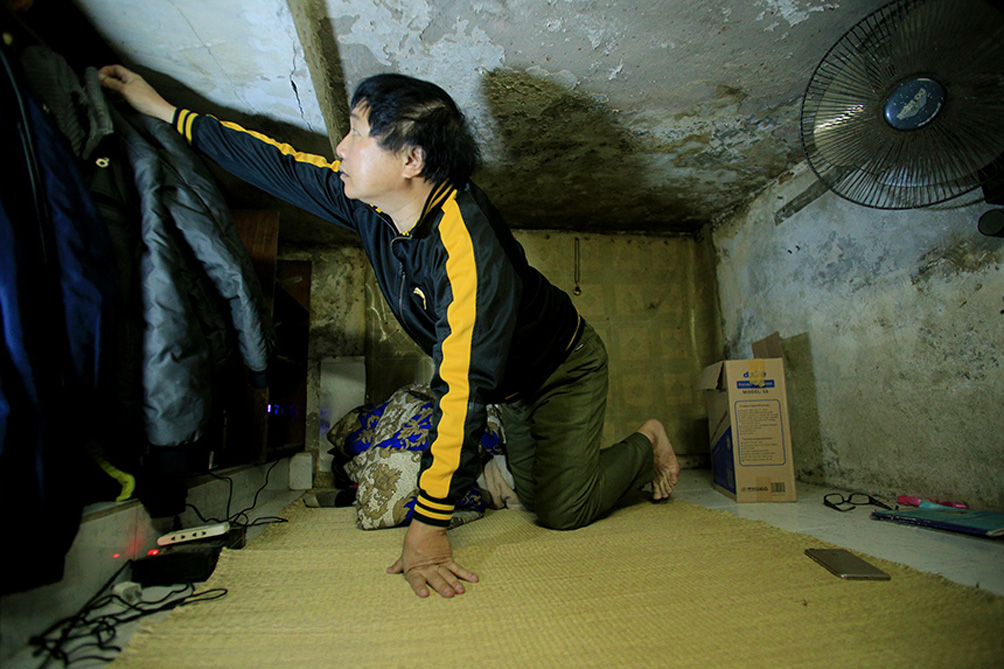 Căn nhà chỉ có thể quỳ, ngồi, nằm… chứ không thể đứng ở trung tâm Hà Nội - hình ảnh 14