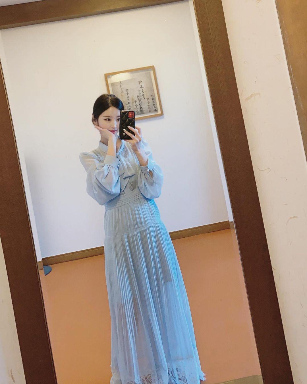 Nữ sinh trường đại học danh giá Hàn Quốc bỏ nghề MC đài trung ương đi làm mẫu nội y - hình ảnh 6