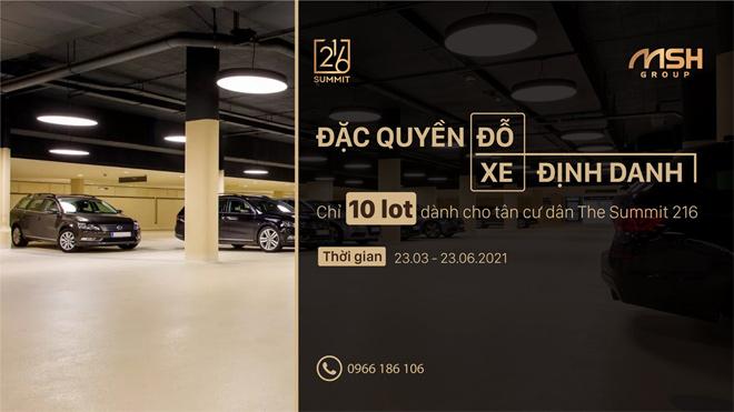 Điểm đỗ xe định danh - Đặc quyền dành riêng cho cư dân VIP - 5