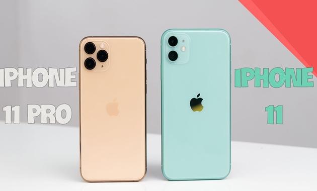 So sánh iPhone 11 và 11 pro: Sự khác biệt tinh tế - 1