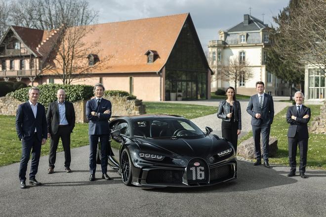 Cực phẩm Bugatti Chiron thứ 300 xuất xưởng, giá quy đổi hơn 90 tỷ đồng - 1