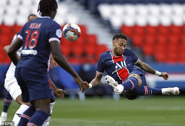 """Video PSG - Lille: Neymar hóa """"tội đồ"""", trả giá bằng ngôi đầu - 1"""