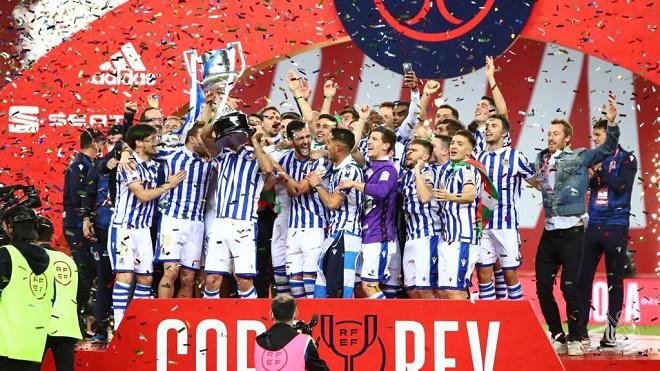 Hạ Bilbao nhờ bước ngoặt 11m, Real Sociedad vô địch Cúp nhà Vua 2019/20 - 1