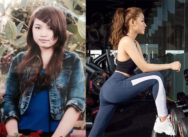 Hot girl Vũ Thu Hương đường cong nóng bỏng: Từng làm công nhân, đổi đời nhờ Gym - 3