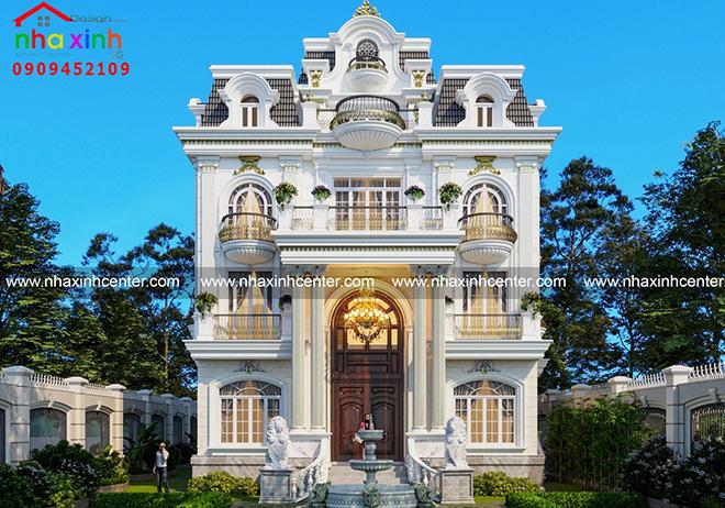 Những mẫu thiết kế biệt thự đẹp xu hướng 2021 - 4