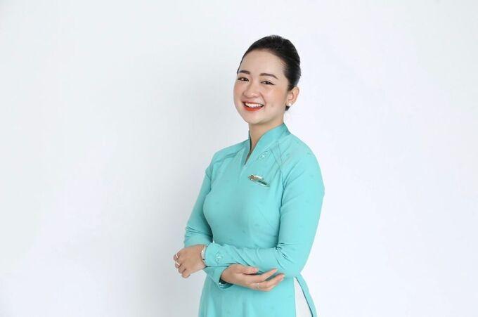 Cô nàng mũm mĩm giảm 19kg, thu gọn 30cm eo để thành tiếp viên hàng không Việt Nam - hình ảnh 6