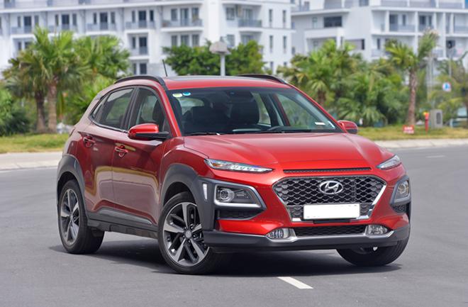 Giá xe Hyundai Kona lăn bánh tháng 4/2021 - 5