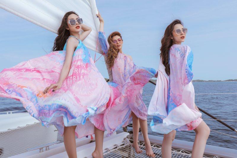 NTK Adrian Anh Tuấn giới thiệu loạt thiết kế thời trang bay bổng, sắc màu tại Phú Quốc - hình ảnh 1