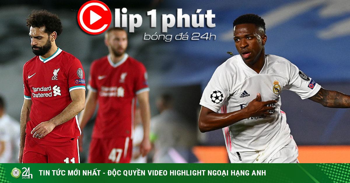 Liverpool ôm hận cúp C1 vì tội đồ, Real Madrid hừng hực trước Siêu Kinh Điển (Clip 1 phút Bóng đá 24H)
