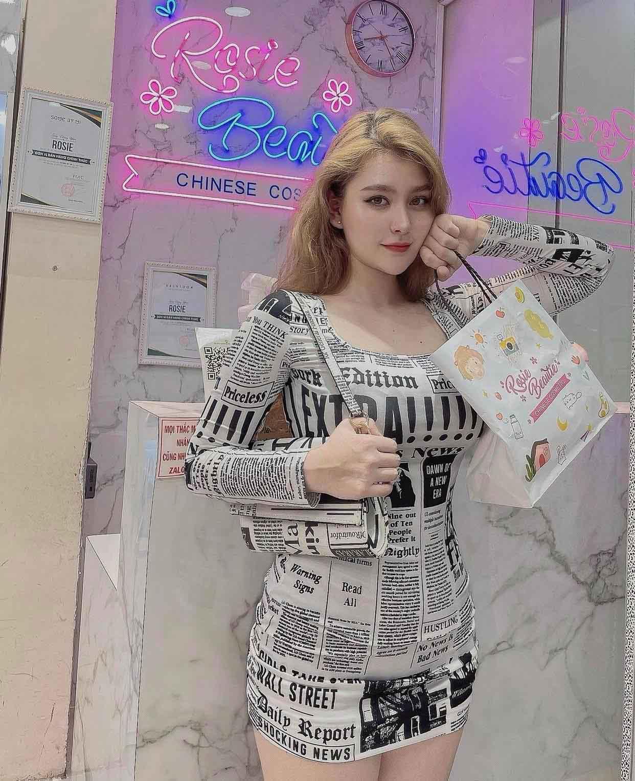Nữ sinh lai Việt-Mỹ hot nhất Sài thành chuộng váy áo táo bạo tôn nét đẹp phồn thực - hình ảnh 2