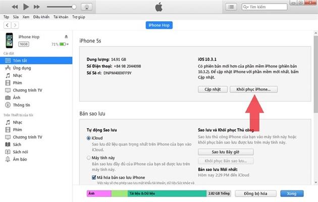 5 cách xử lý iPhone bị treo không hoạt động - 4