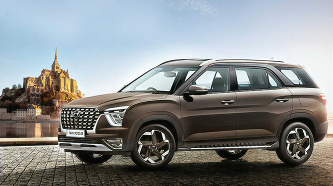 Hyundai Alcazar lộ ảnh trước ngày ra mắt, cạnh tranh trực tiếp Innova