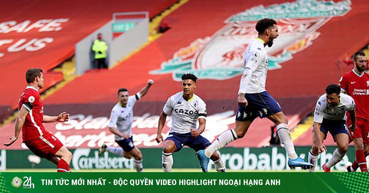 Video Liverpool - Aston Villa: Kịch tính ở Anfield, nỗi đau mừng hụt (H1)