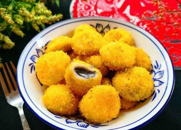 Biến tấu bánh trôi chiên, bánh trôi nhân dừa tươi cho Tết Hàn thực - 3