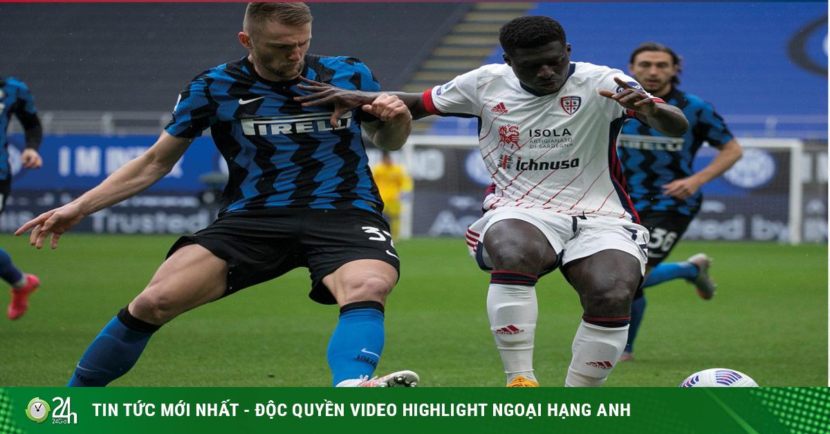 Video Inter Milan - Cagliari: Cựu sao MU tỏa sáng, tiến sát ngôi vương