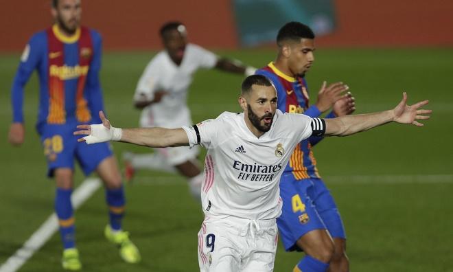 Kịch tính bảng xếp hạng La Liga: Real Madrid hạ Barcelona, vượt mặt Atletico - 1