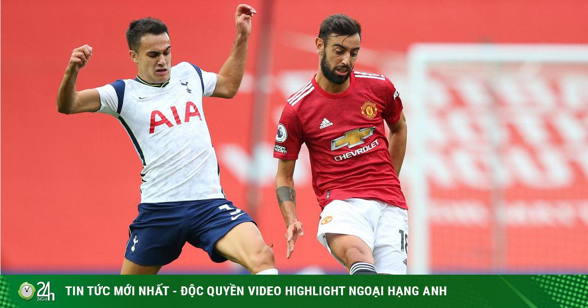 Trực tiếp bóng đá Tottenham - MU: Hừng hực đòi nợ thảm bại ở lượt đi