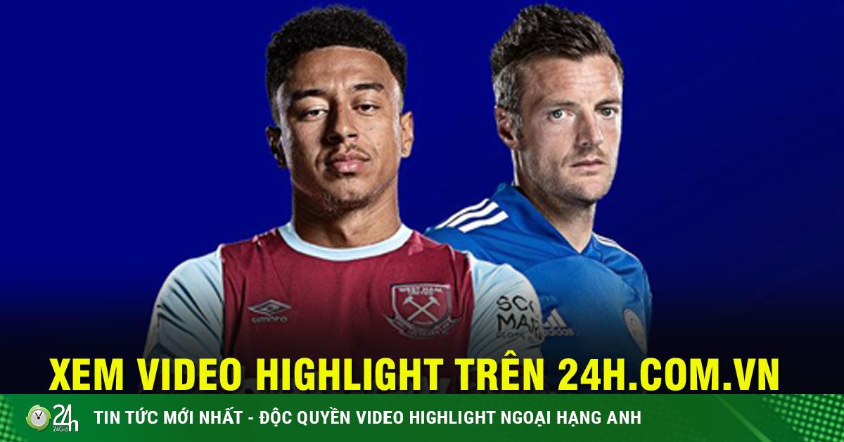 Trực tiếp bóng đá West Ham - Leicester: Nóng bỏng đại chiến vì top 4