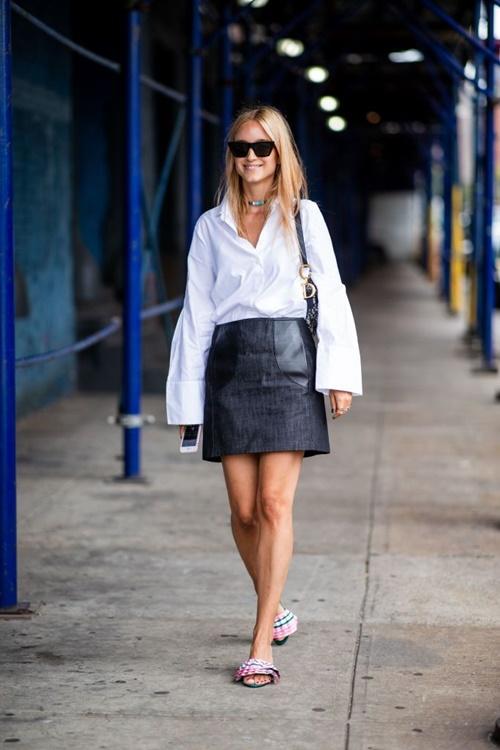 1001 ý tưởng trang phục mùa hè cho quý cô công sở - 9