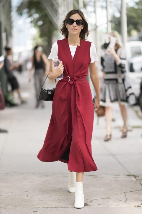 1001 ý tưởng trang phục mùa hè cho quý cô công sở - 11